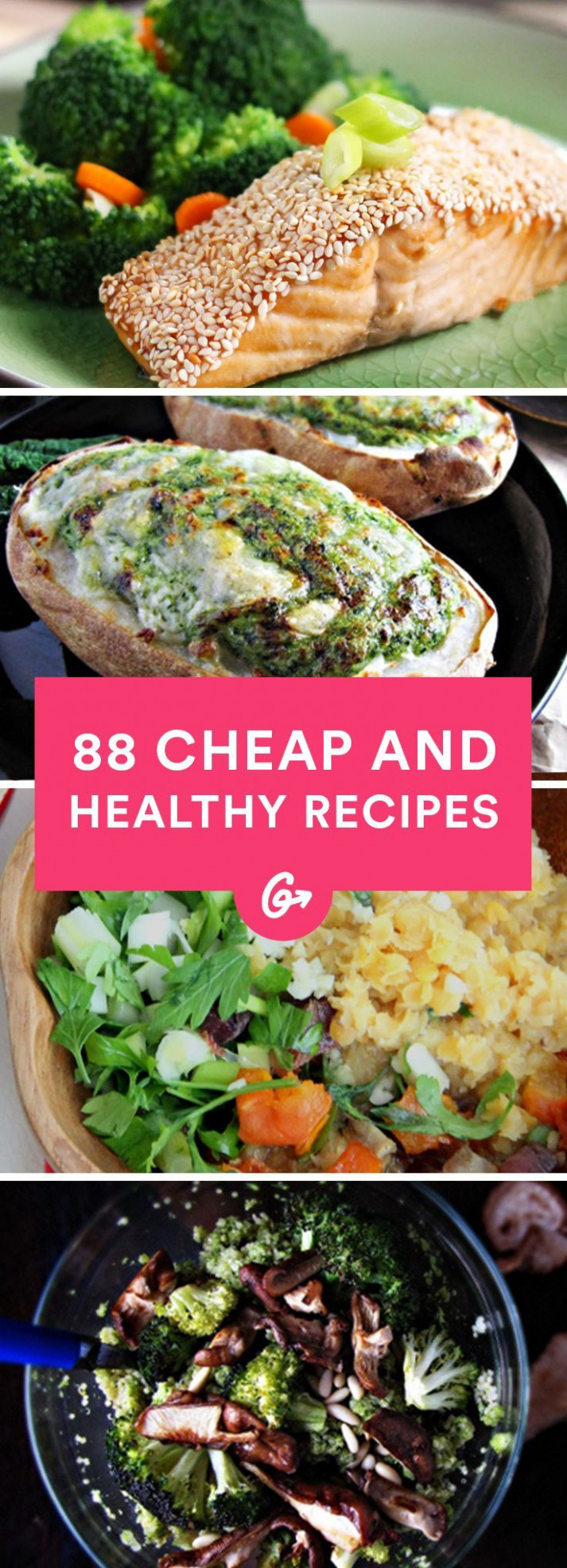 88 Cheap and Healthy Lunch and Dinner Recipes | Healthy ..