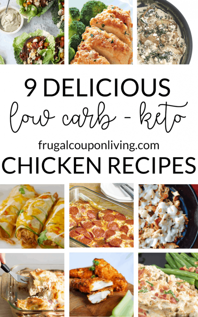 9 Delicious Low Carb Keto Diet Chicken Recipes for Dinner - keto diet recipes chicken