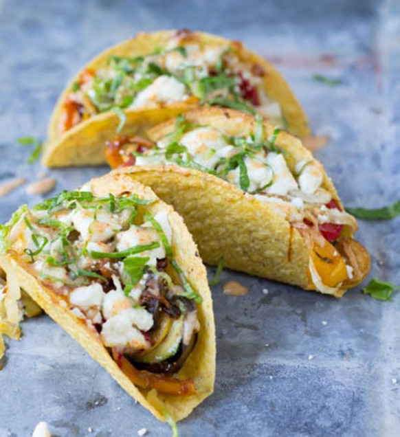 9 Vegetarian Taco Recipes For Meatless Monday - Recipes Vegetarian Tacos