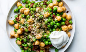 A 5 Minute Chickpea Dinner Best Eaten On The Couch, By The TV – Chickpea Recipes Dinner