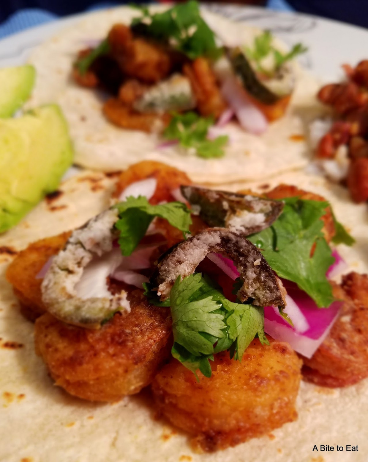 A Bite to Eat: Authentic Style Shrimp Tacos - food recipes csv