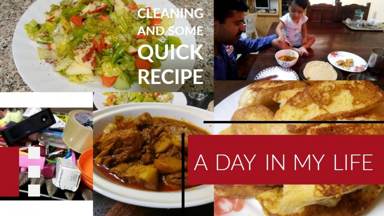 A Day In My Life //Some Quick Recipes And Cleaning//Malayalam Vlog - dinner recipes malayalam