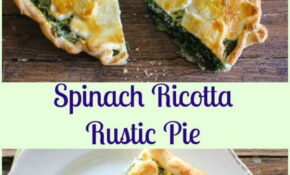 A Delicious Italian Savory Pie Recipe, Made With Ricotta ..