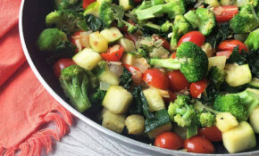A Fast And Easy Vegetable Saute: Healthy Food For Busy ..