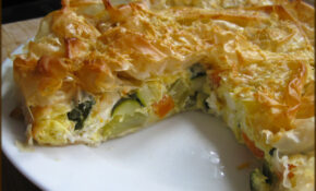 A Glug Of Oil : Good Energy Cooking – Vegetable Filo ..