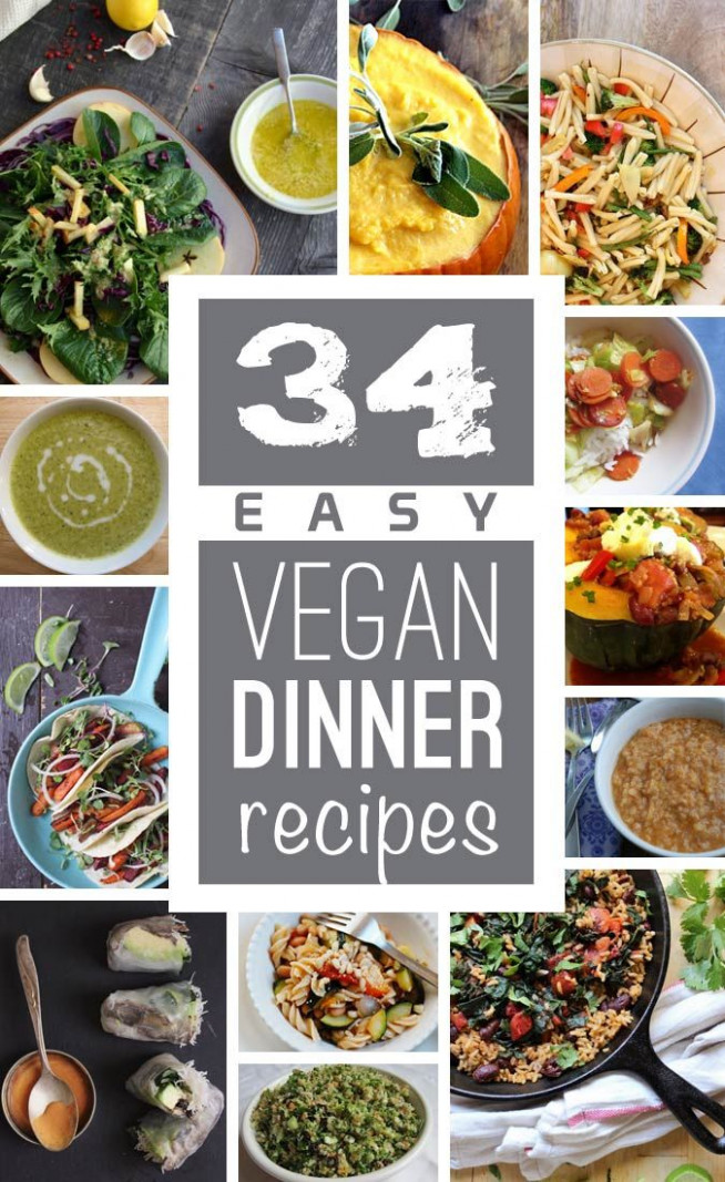 A resource of easy vegan dinner recipes to save money and ..
