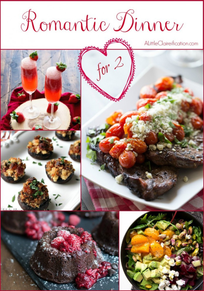 A Romantic Dinner For Two | 50 Valentine Recipe Ideas - A ..