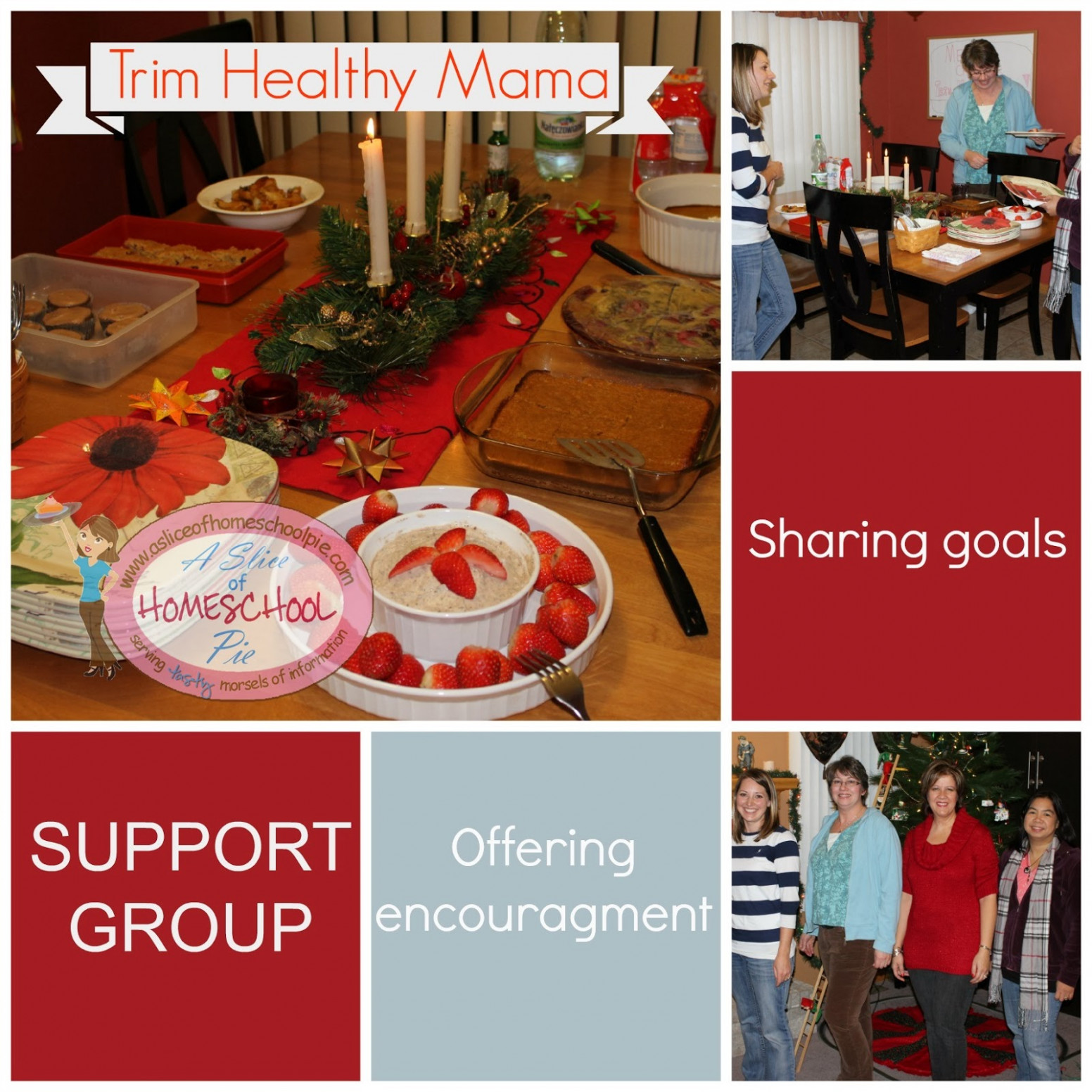 A Slice Of Homeschool Pie: Trim Healthy Mama Support Group ..