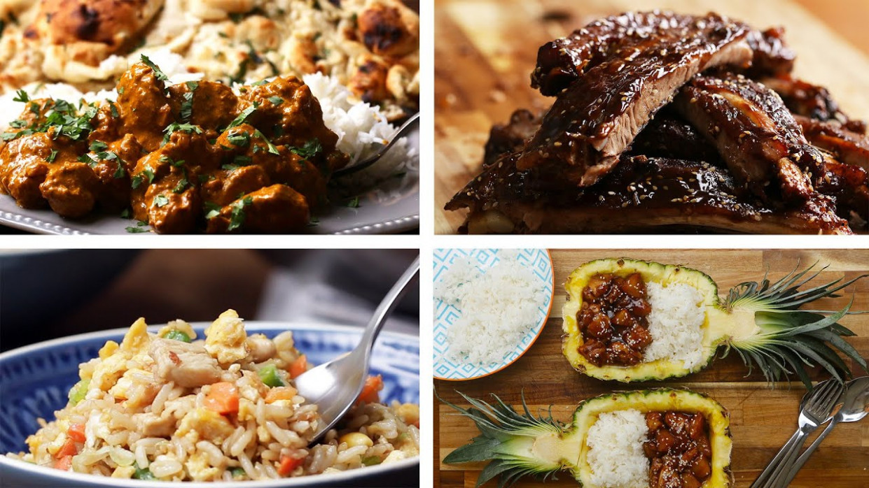 A Tour Of Delicious Asian-Inspired Dinner Recipes - food recipes asian