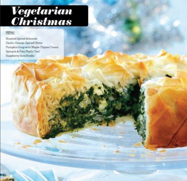 A vegetarian Christmas dinner menu - Chatelaine - veggie xmas dinner recipes