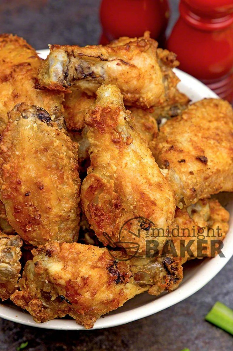 A Very Basic Wing Recipe For The Air Fryer  Secret's In The ..