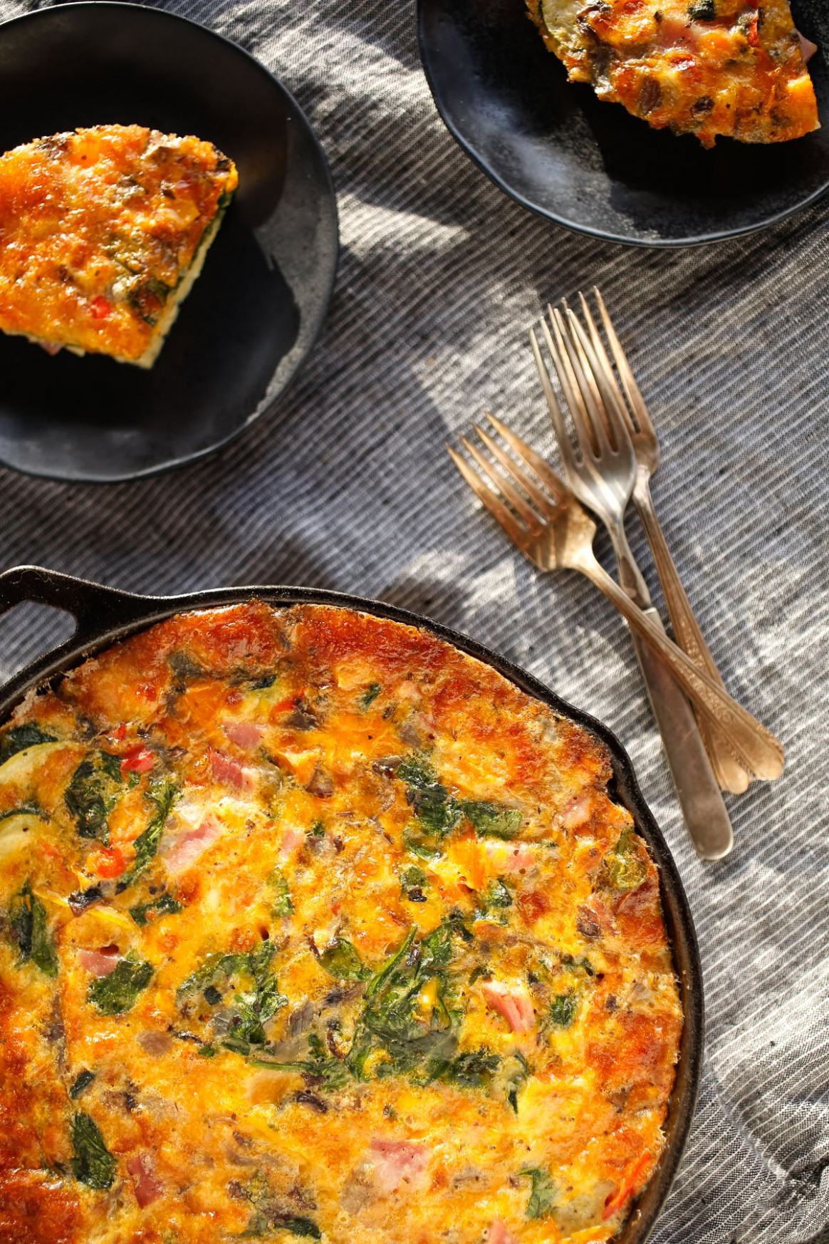 A Very Egg Ceptional Veggie Bake - Recipes Dinner With Eggs