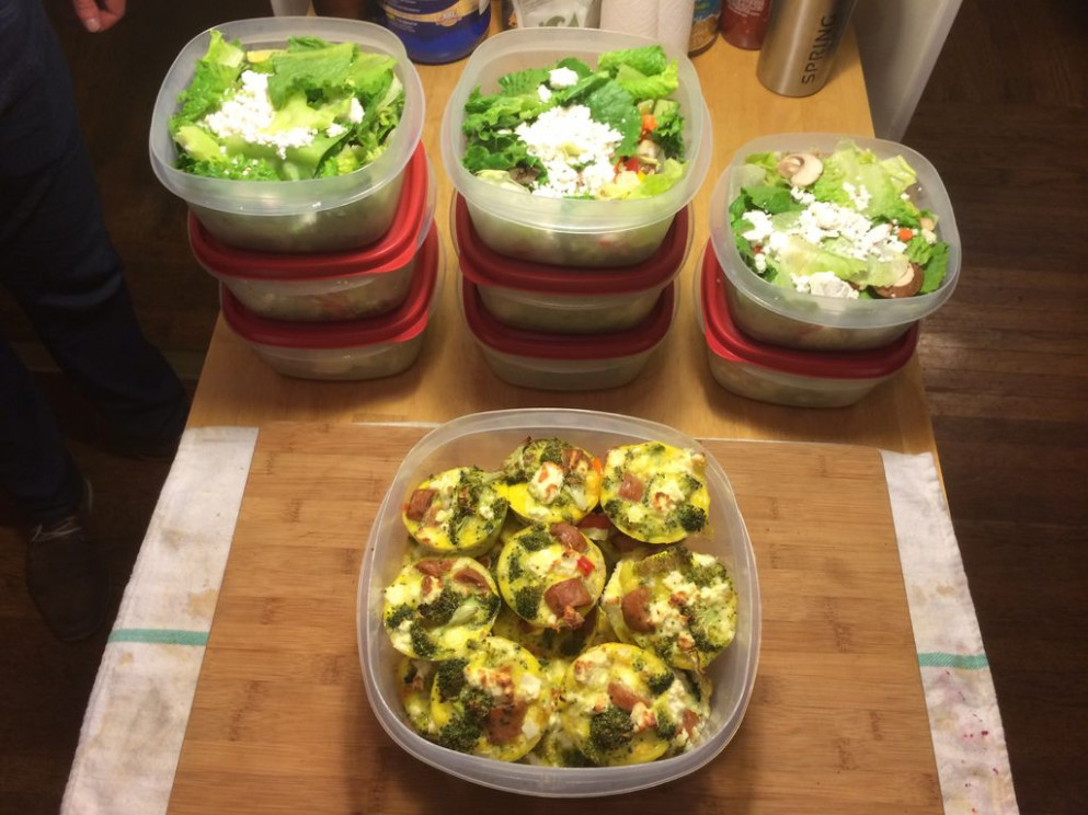 A Week of Healthy Meals Made in 11 Hours: 11 Steps (with Pictures) - recipes that are healthy