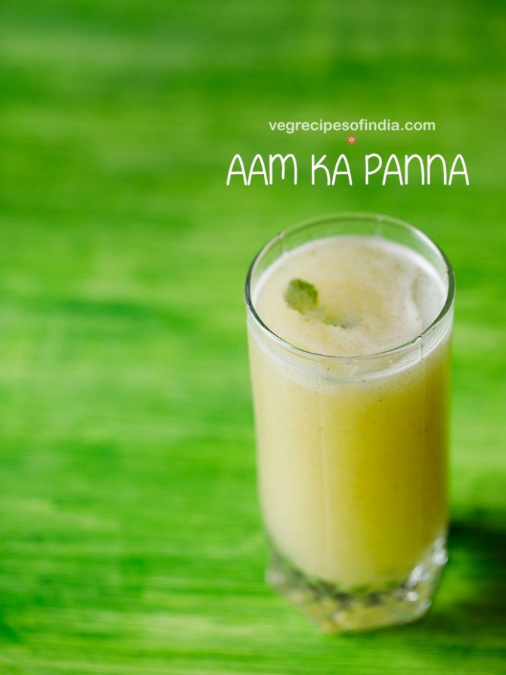 aam panna recipe with roasted mangoes | roasted aam panna ..
