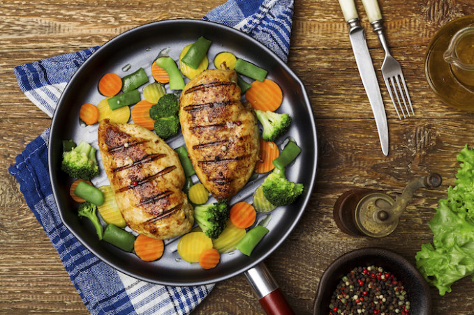 Acid Reflux Recipe: Grilled Chicken Breasts - Dinner Recipes Acid Reflux
