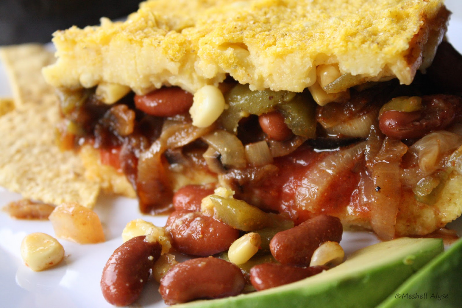 Adaptive Cooking: Vegan Tamale Pie - Gluten Free One Dish Meal - recipe vegetarian tamales