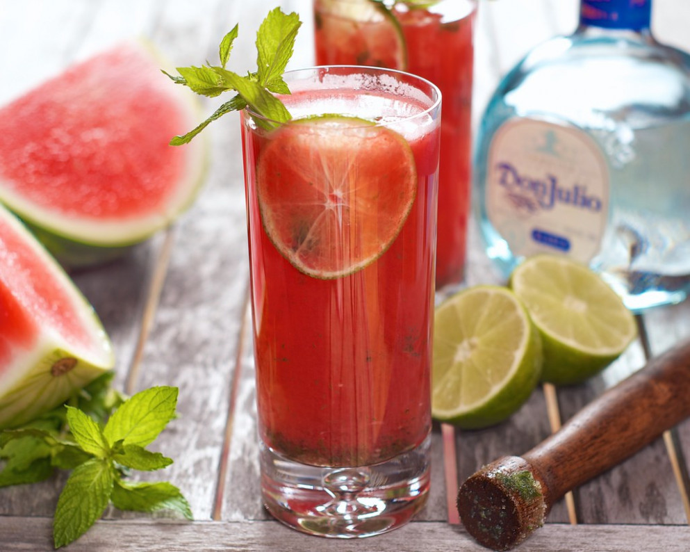 Adult Agua Fresca - food recipes you can freeze