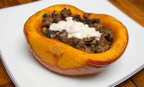 Afghan Inspired Stuffed Pumpkin – Dinner Recipes Delish