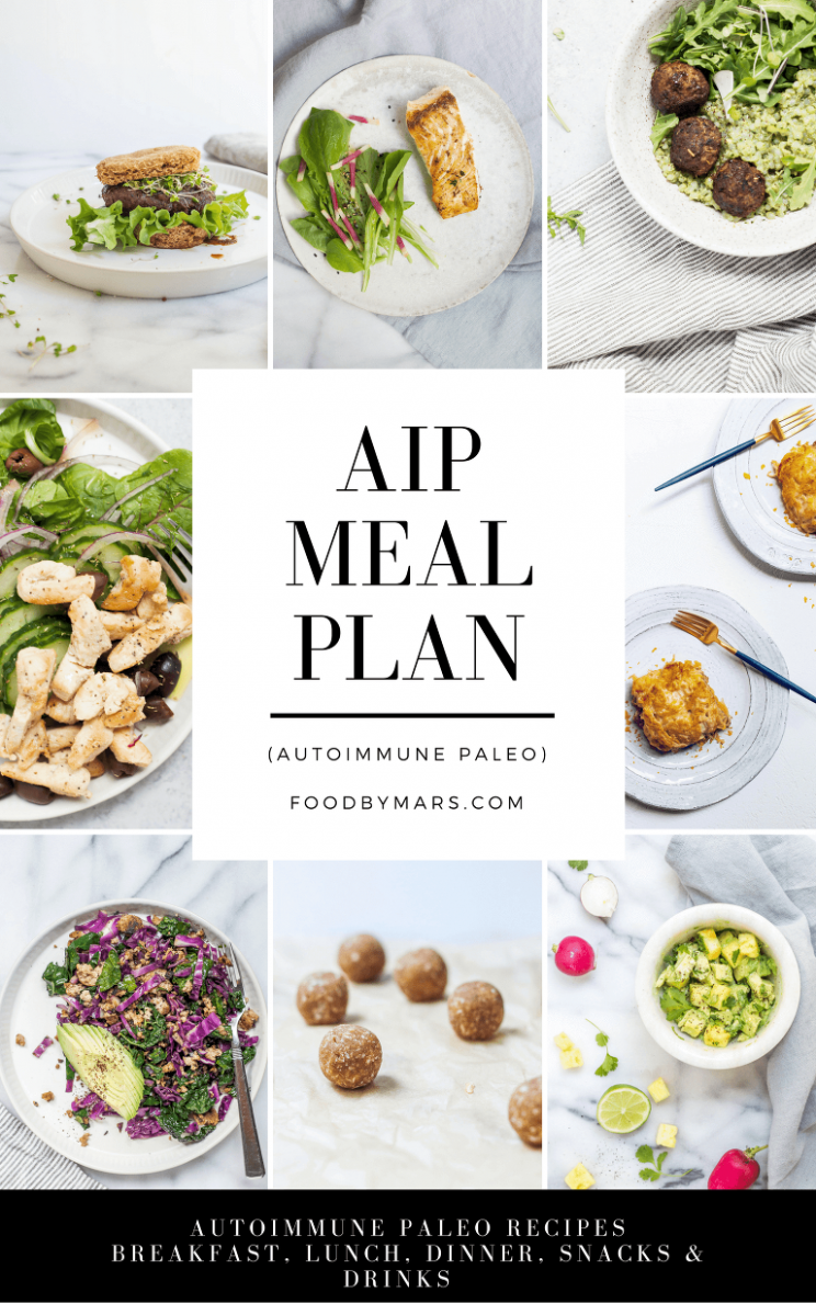 AIP Meal Plan | Food By Mars - Food Recipes Api Free