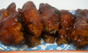 Air Fryer BBQ Chicken Wings | Grace Like Rain Blog – Power Airfryer Xl Recipes Chicken Wings