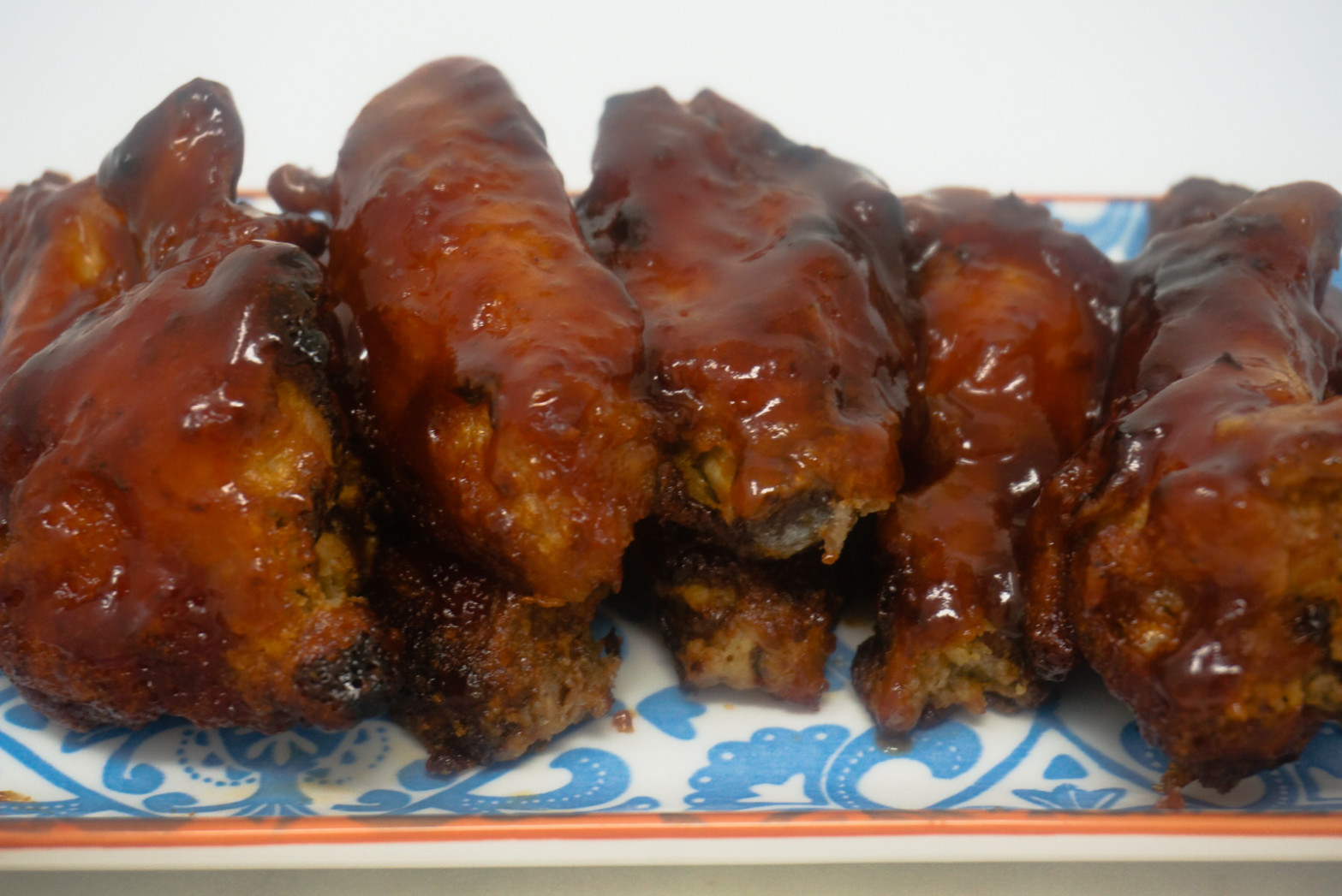 Air Fryer BBQ Chicken Wings | Grace Like Rain Blog - power airfryer xl recipes chicken wings