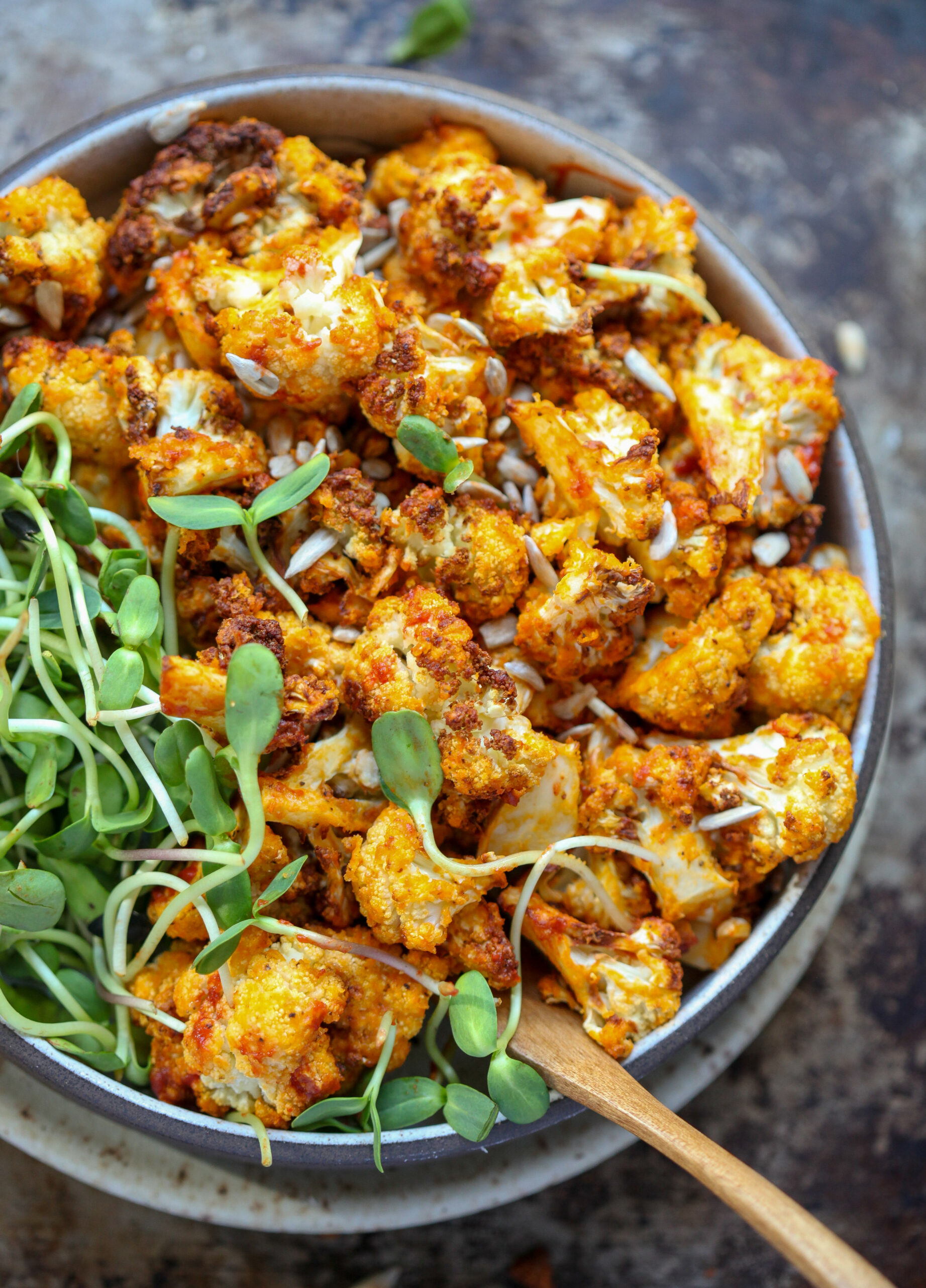 Air Fryer Buffalo Cauliflower - air fryer xl recipes chicken