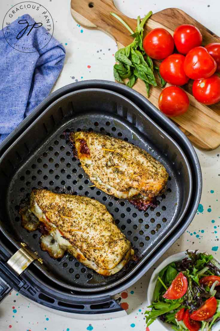 Air Fryer Chicken Breast Recipe | The Gracious Pantry - recipes air fryer chicken breast
