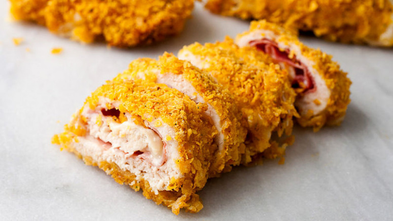 Air Fryer Chicken Cordon Bleu Frozen - food recipes - ninja foodi recipes chicken breast