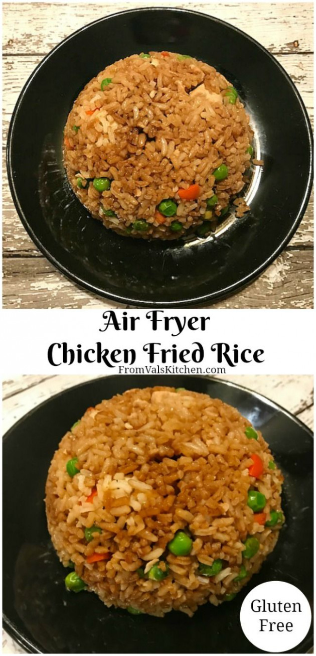 Air Fryer Chicken Fried Rice - chicken recipes for air fryer