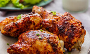 Air Fryer Chicken Thighs – Recipes Air Fryer Dinner