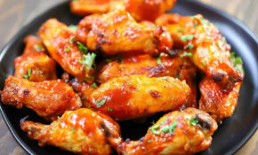 Air Fryer Chicken Wings Recipe – Yummy Healthy Easy – Recipes Air Fryer Chicken Wings