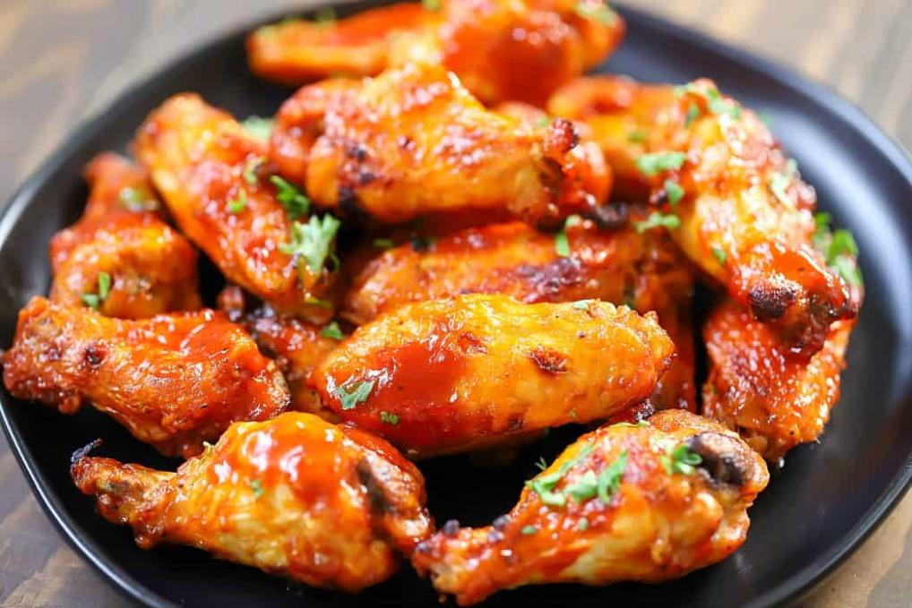 Air Fryer Chicken Wings Recipe - Yummy Healthy Easy - Recipes Air Fryer Chicken Wings