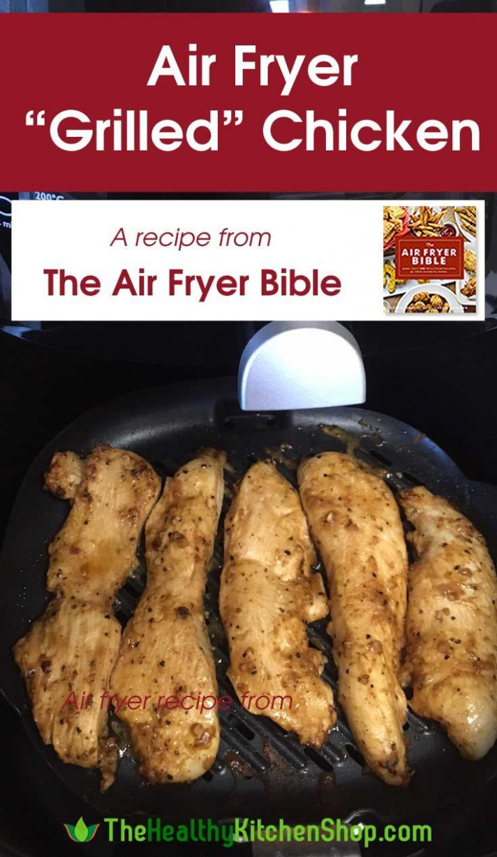 Air Fryer Grilled Chicken Recipe - from The Air Fryer Bible ..