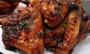 Air Fryer Honey BBQ Chicken Wings – Power Airfryer Xl Recipes Chicken Wings