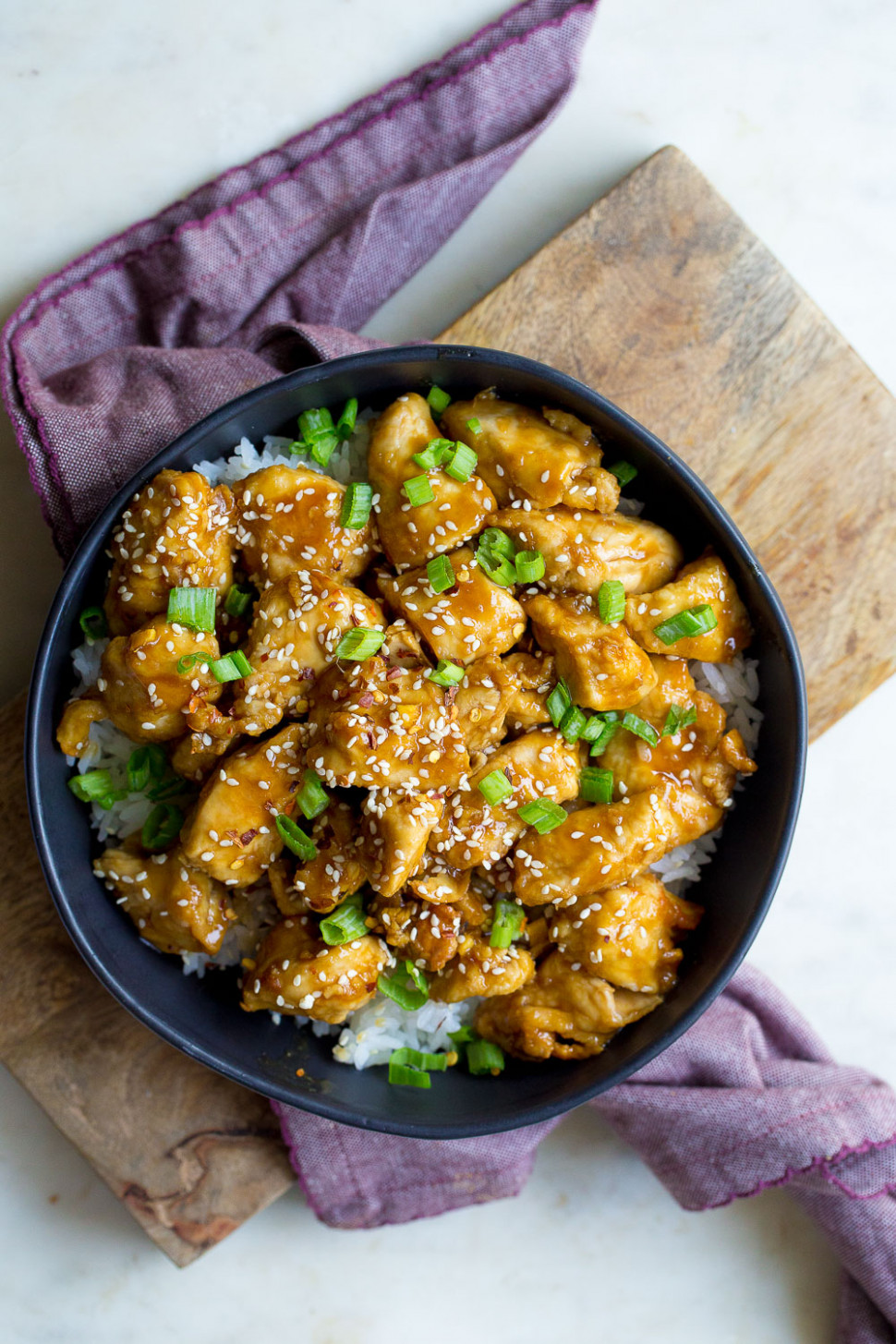 Air Fryer Sesame Chicken - chicken recipes for air fryer