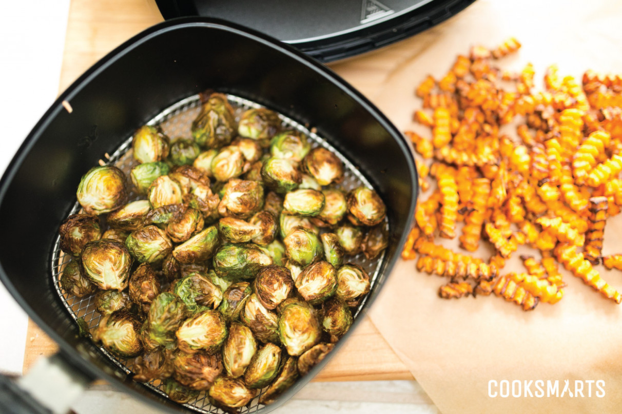 Airfried Vegetables - vegetarian recipes air fryer