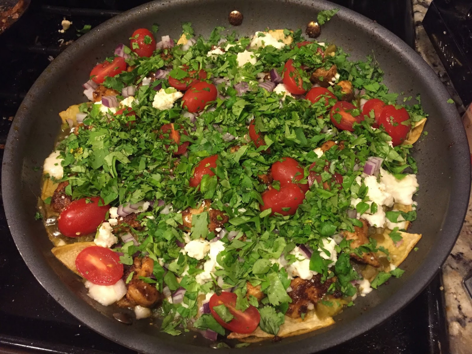 Al's Recipe Reviews: Cilantro-Chicken Chilaquiles with ..