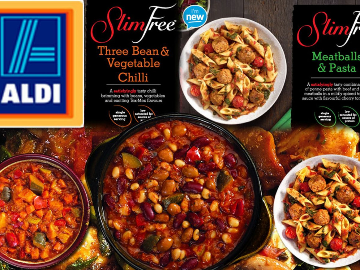 Aldi launches slimming ready meals - and they look just like ..