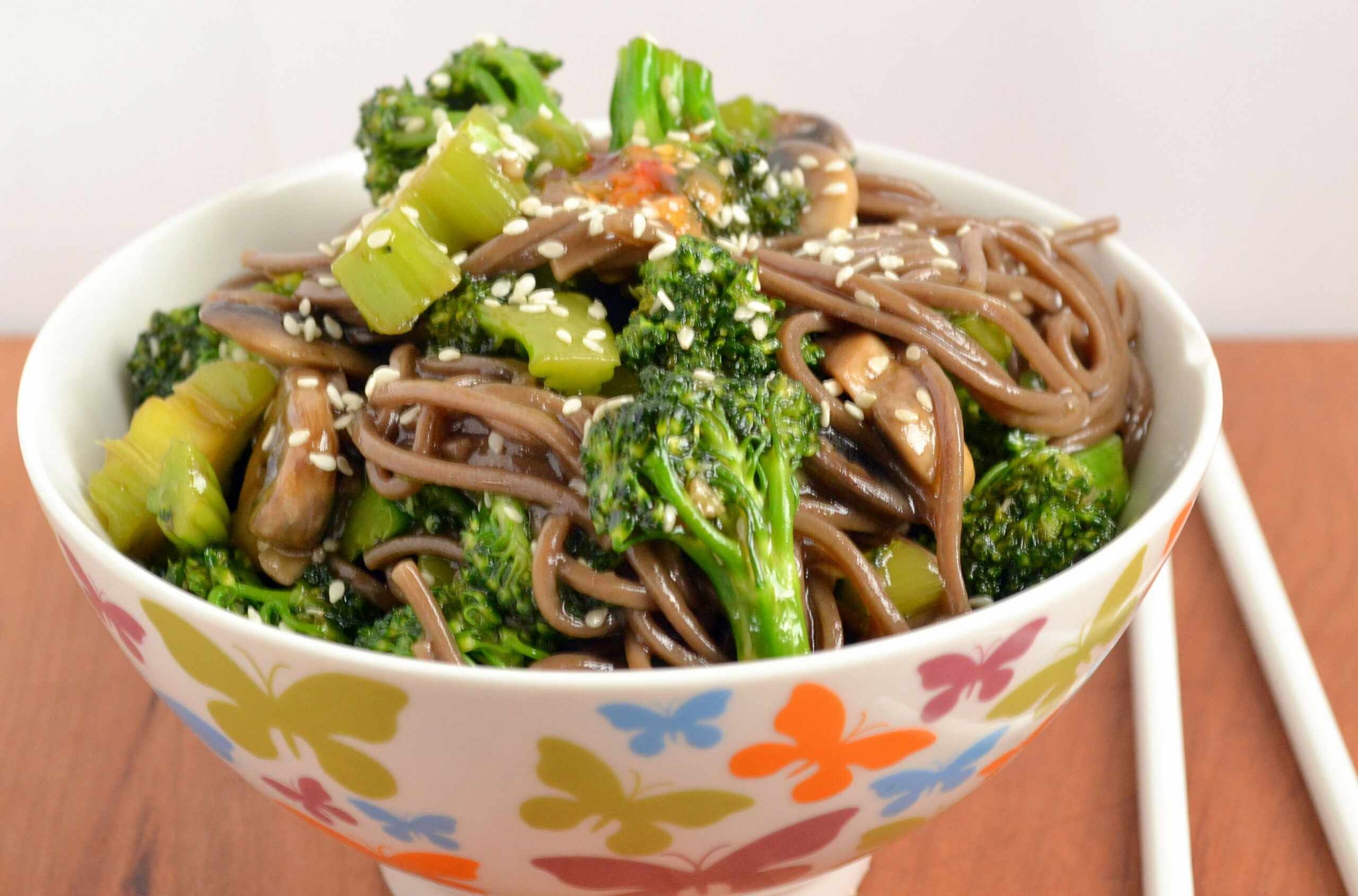Alkaline Recipe #76: Chinese Stir Fry Buckwheat Noodles ..