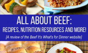 All About Beef – Recipes, Nutrition Resources And More! – Beef Recipes Dinner