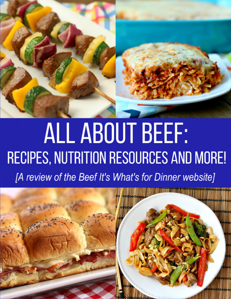 All About Beef - Recipes, Nutrition Resources And More! - Beef Recipes Dinner