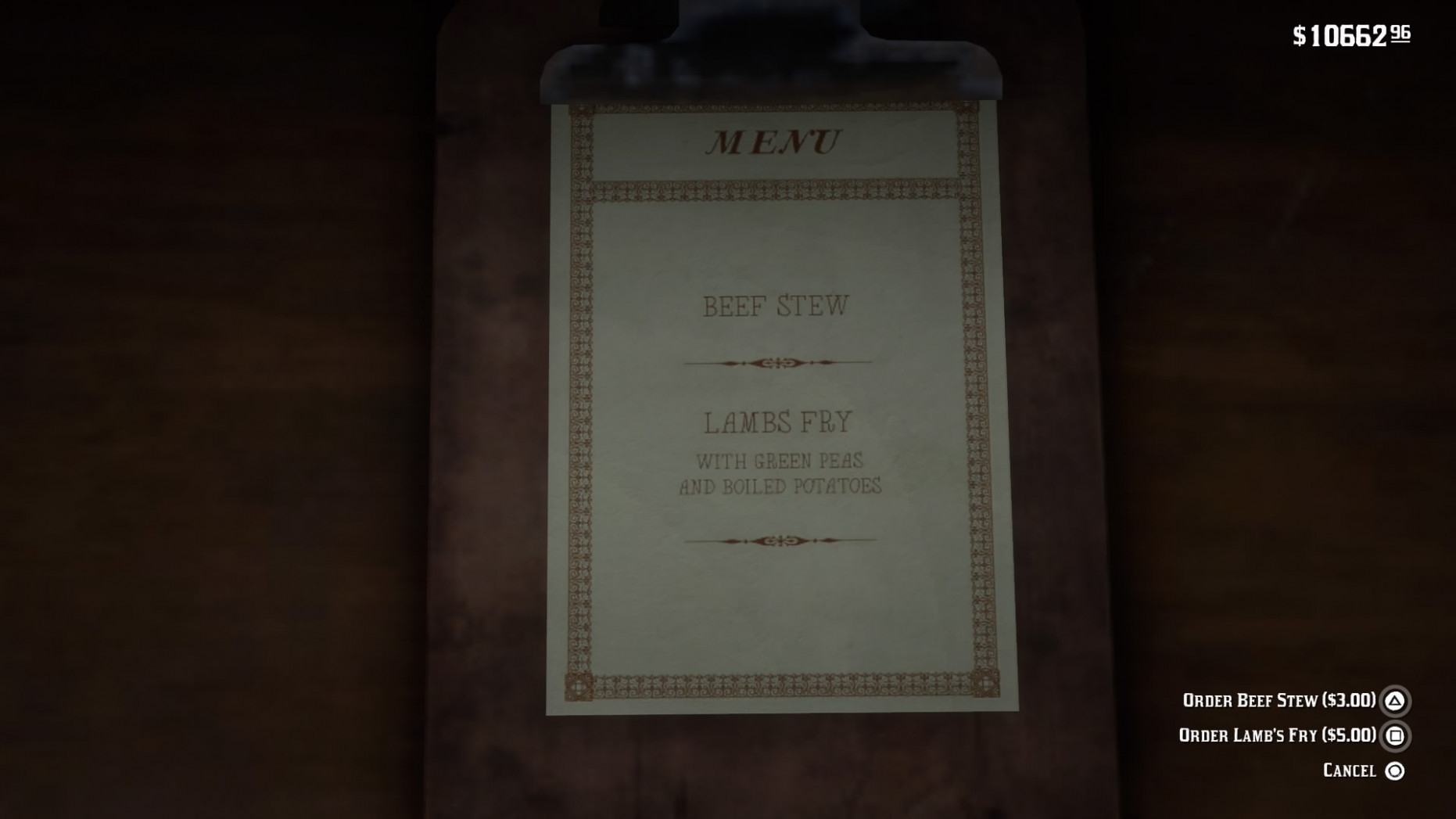 All menus & food in Red Dead Redemption 15 - Album on Imgur - food recipes rdr2