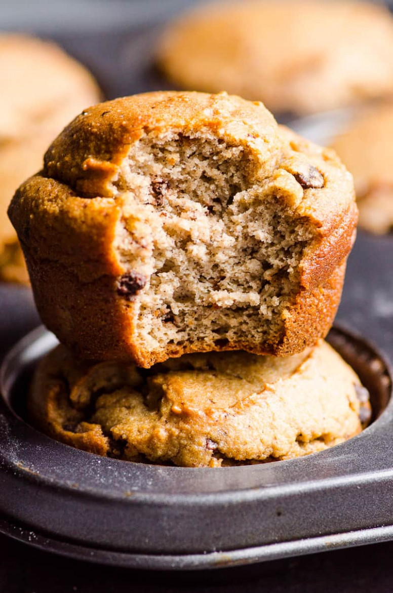 Almond Flour Banana Muffins - Healthy Recipes With Bananas