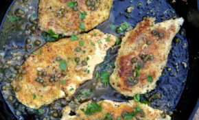 Almond Flour Crusted Chicken Piccata Recipe – Ian Knauer ..