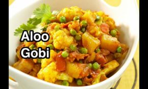 Aloo Gobi – Potato Cauliflower Recipes – Hindi English Vegan – Recipes In Hindi Vegetarian