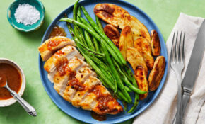 Amazing Apricot Chicken With Fingerling Potatoes And Green Beans – Recipes Apricot Chicken