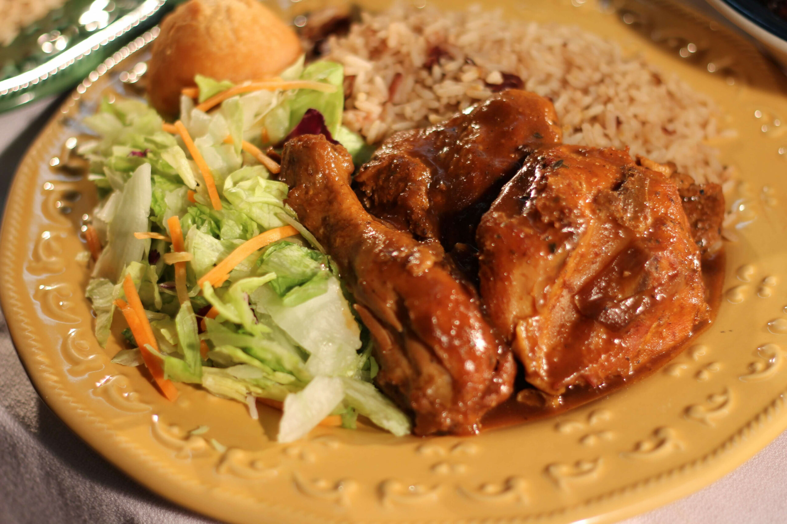 Amazing Caribbean Brown Stew Chicken (Jamaican) - Taste the ..