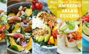Amazing Salad Recipes Meal Plan With Dinner At The Zoo ..
