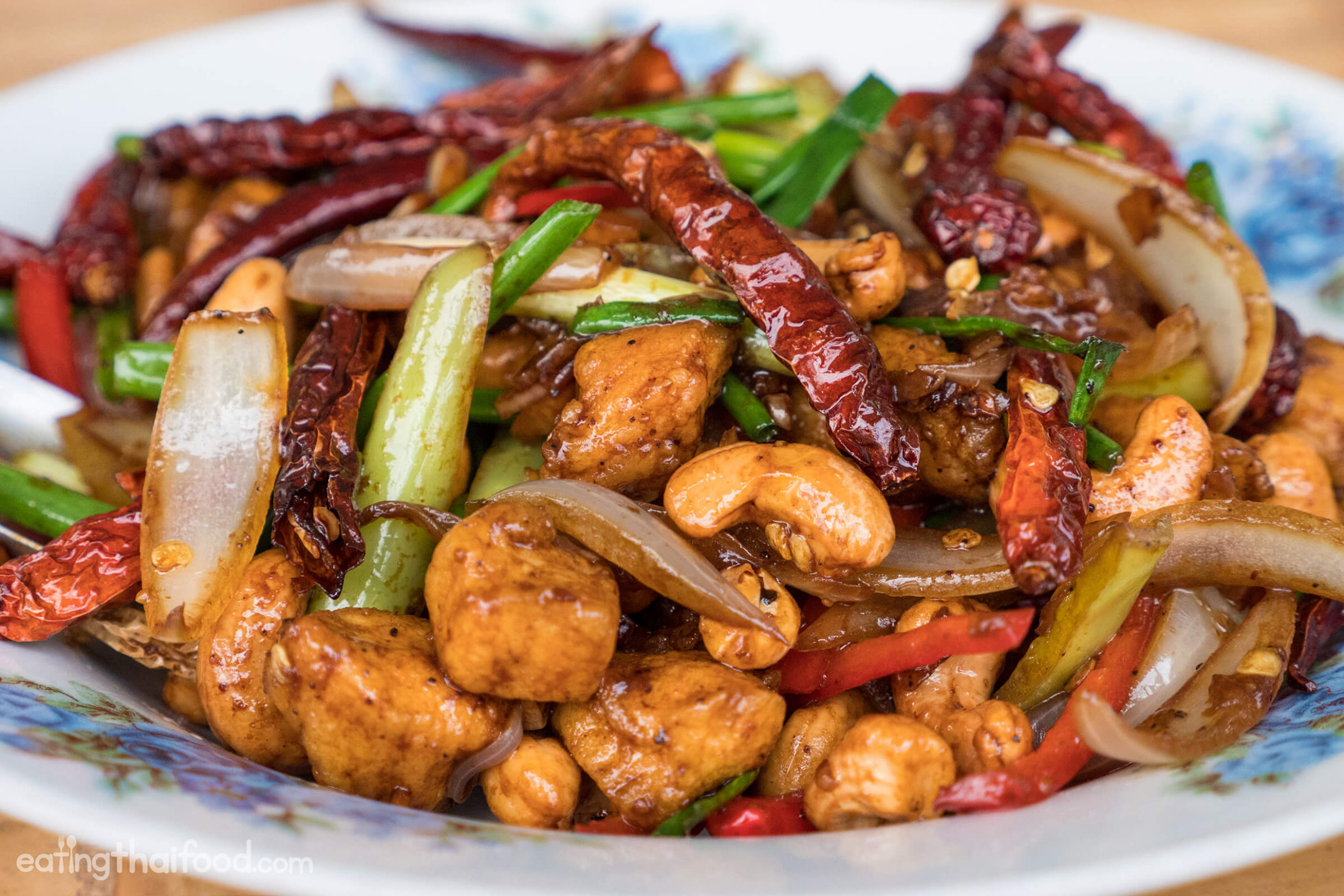 Amazing Thai Cashew Chicken Recipe - Authentic and Easy to Make! - food recipes chicken