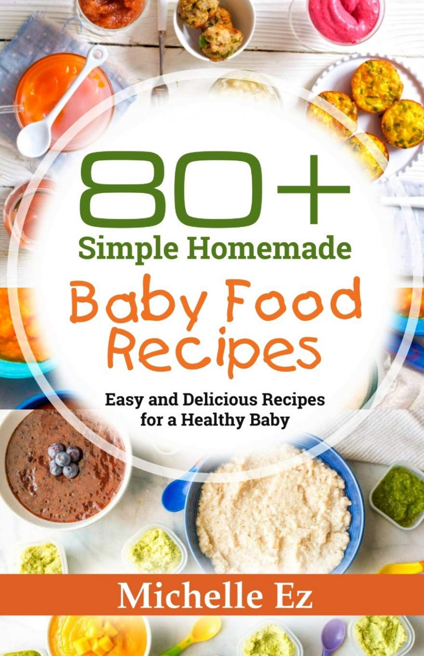 Amazon.com: 10+ Simple Homemade Baby Food Recipes: Easy and ...